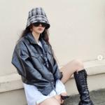 秋冬ファッションの参考に♡韓国女子から学ぶレザーを使ったコーデ
