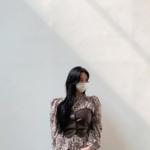 おしゃれ韓国女子に学ぶ「コーデにアクセントをつけてくれる柄物コーデ」をご紹介!