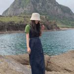 韓国女子の人気ファッションスタイル「オーバーオール」の定番コーデを紹介♡