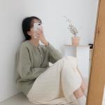 """今年の冬""""ニットスカート""""に大注目!韓国女子の着こなし術をご紹介♡"""