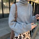 今年の冬はハイネックコーデに決まり!韓国女子のハイネックセーター着こなし特集♡