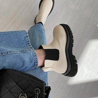 韓国レディースシューズ通販 プチプラ 靴・シューズブランド サプン【SAPPUN】 (195683)