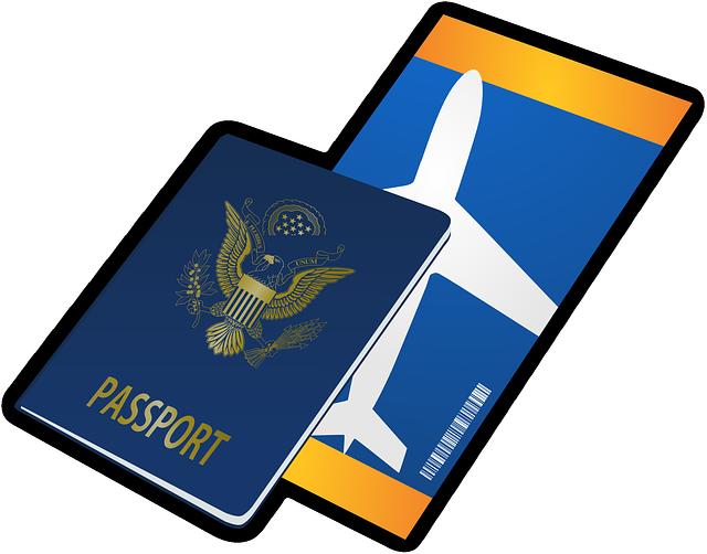 Passport Ticket Travel · Free vector graphic on Pixabay (868)