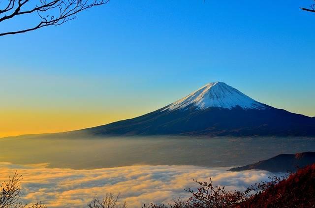 Mt Fuji Volcano Foggy - Free photo on Pixabay (1861)