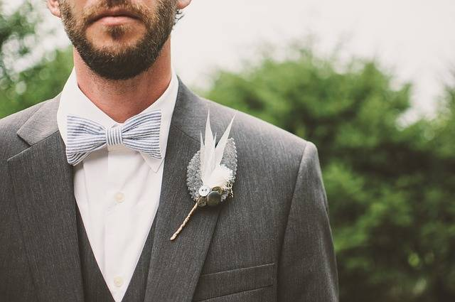 Beard Bow Tie Brooch - Free photo on Pixabay (1958)