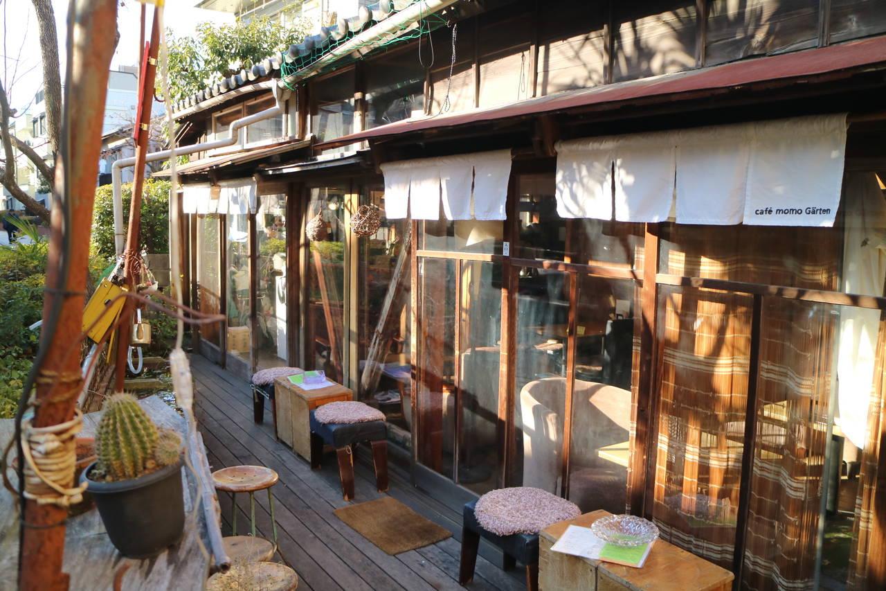 〔中野坂上にズームイン!〕モモガルテンー古民家カフェ