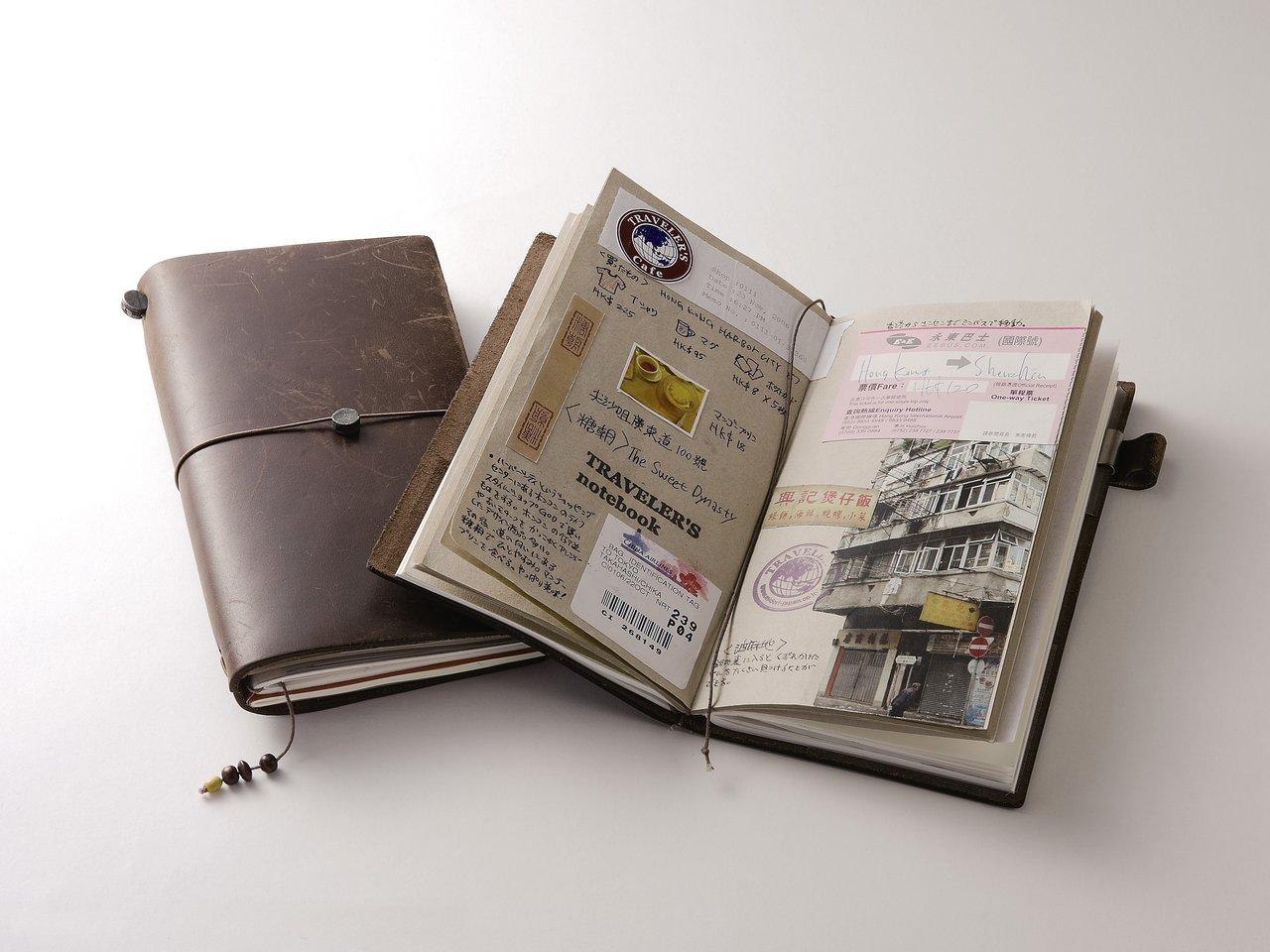 思い出はアナログで。旅人のための「トラベラーズノート」