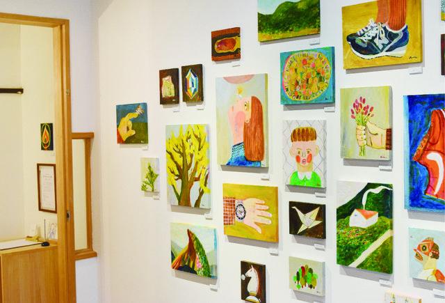 フラットにアートとふれあえる場所。ギャラリー「ondo STAY&EXHIBITION」
