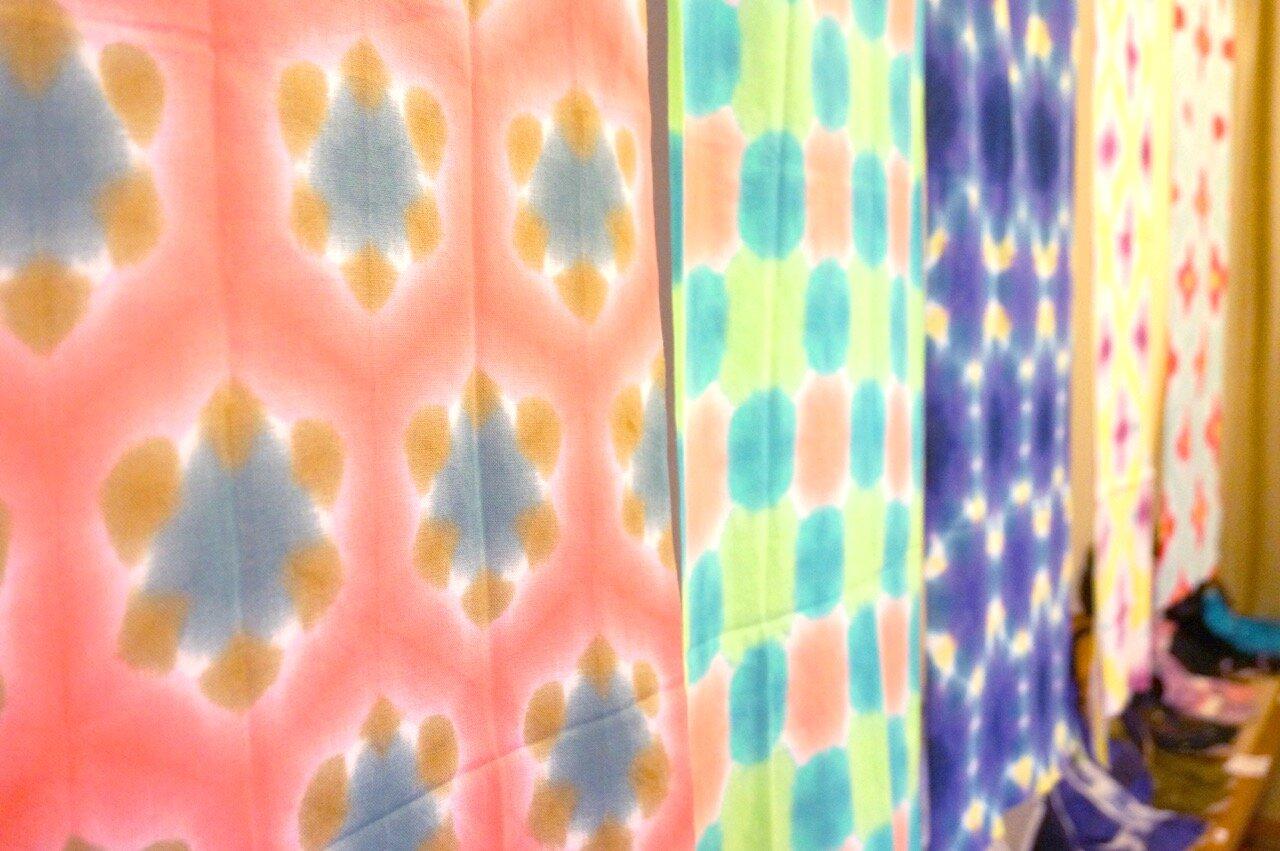 伝統をアップデート。絞りの歴史を新たな色で染め上げる「まり木綿」