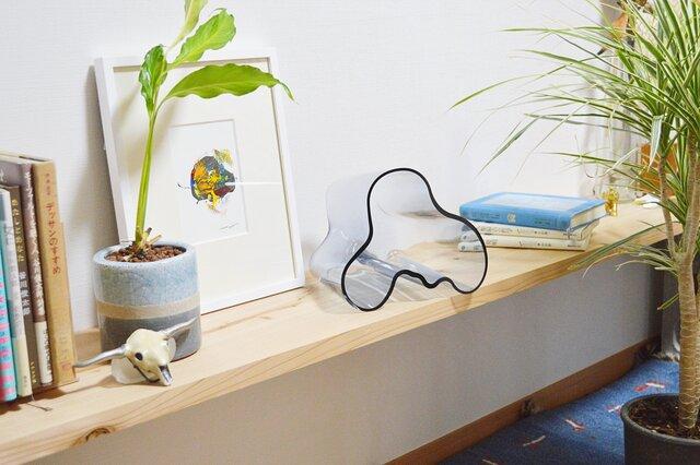 イッタラのアアルトベース|「花を生ける」をおまけにする花器