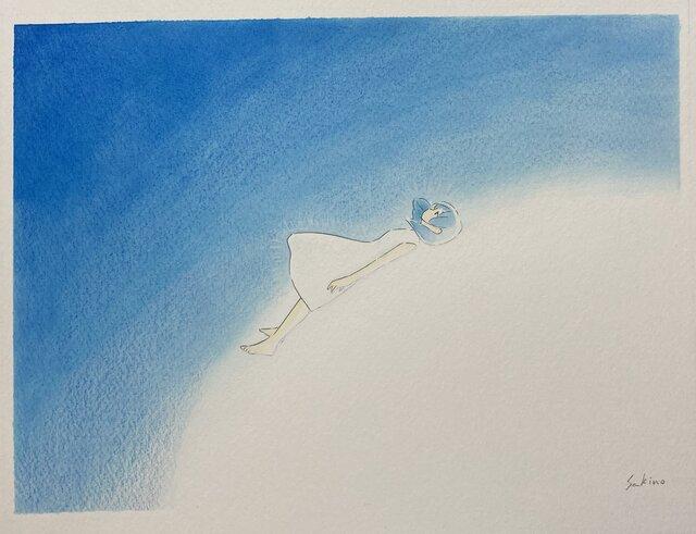 <SERIES>アーティストFILE vol.14 考えるほど優しくなる絵。水元さきの