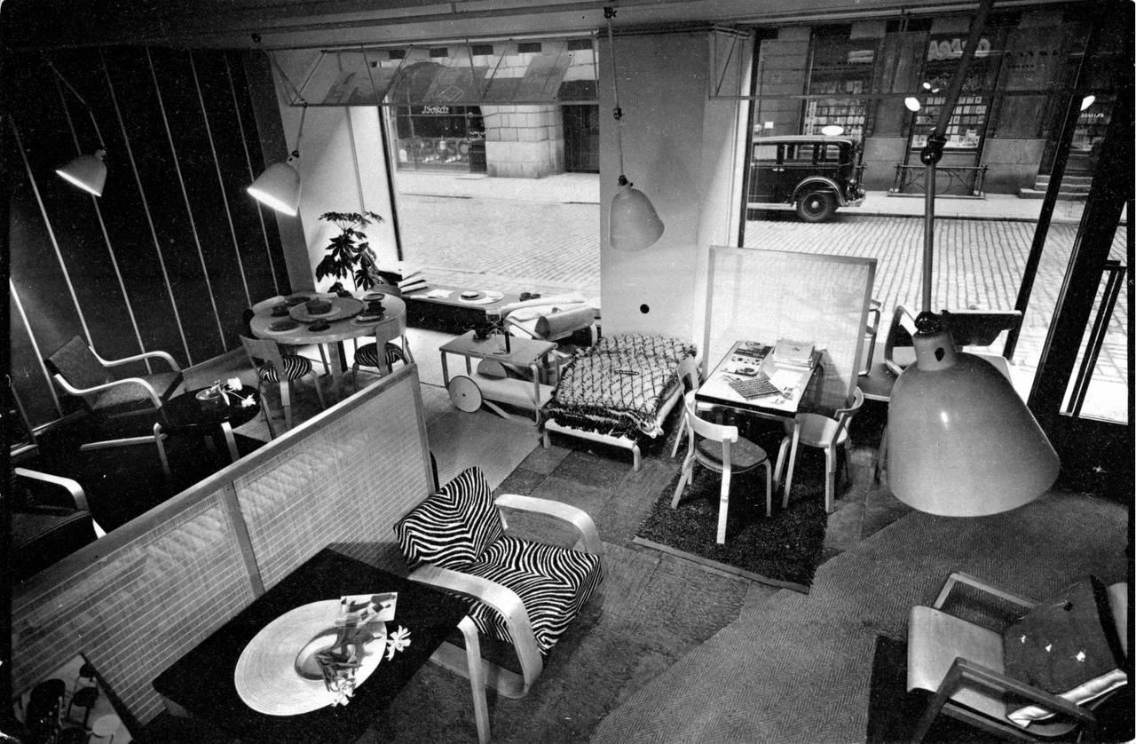 1936年 フィンランド・ヘルシンキのアルテックストア