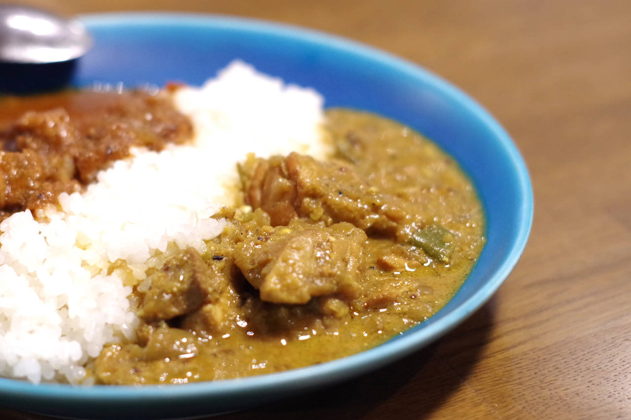 「THE チキンカレー」