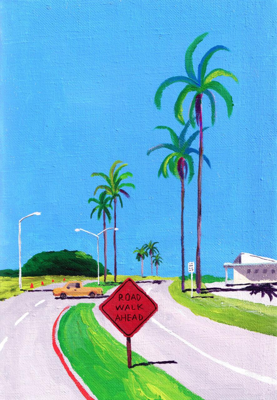 「Street View Journey : Banyan Dr, Hawaii (ストリートビューの旅:バニヤン・ドライブ ハワイ)」