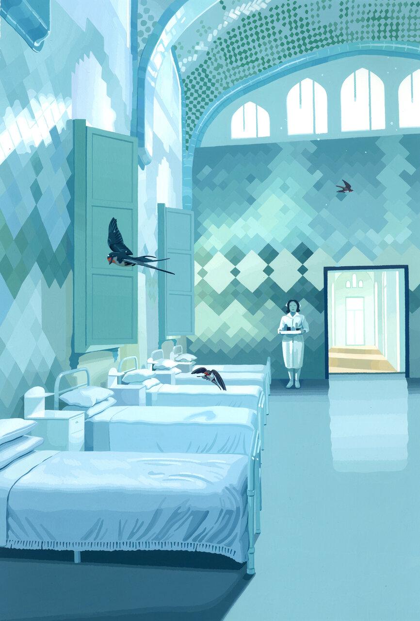 「燕の病室」