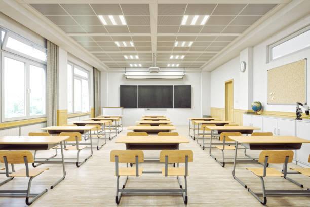 近代的な教室のインテリア