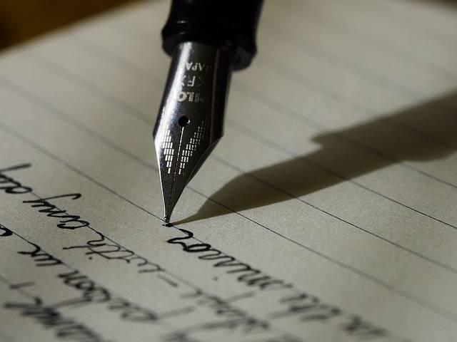 Writing Write Fountain Pen · Free photo on Pixabay (40)