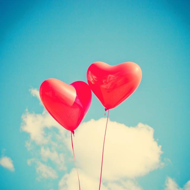 Balloon Heart Love · Free photo on Pixabay (550)