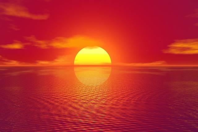 Sunset Sky Sea · Free image on Pixabay (1145)