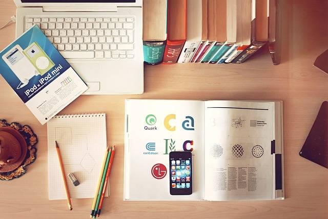 Notebook Workplace Desk · Free photo on Pixabay (1200)