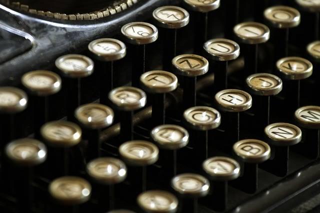Typewriter Letters Keyboard · Free photo on Pixabay (1507)