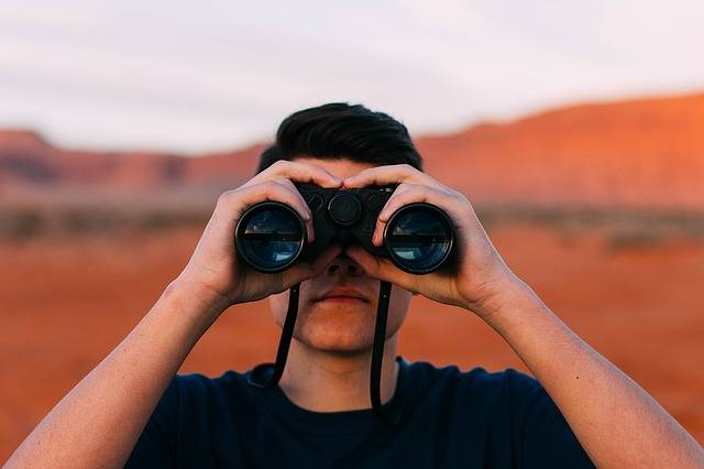 Binoculars Looking Man · Free photo on Pixabay (1751)