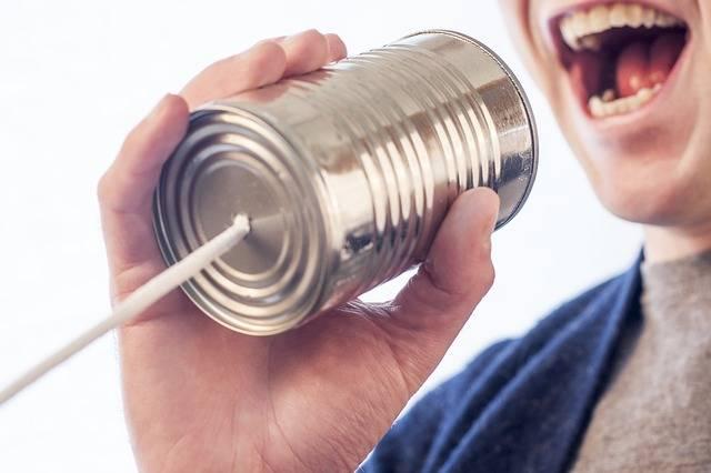 Speak Talk Microphone Tin - Free photo on Pixabay (2261)