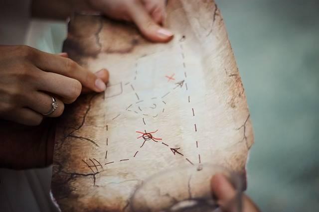 Treasure Map Navigation - Free photo on Pixabay (2379)