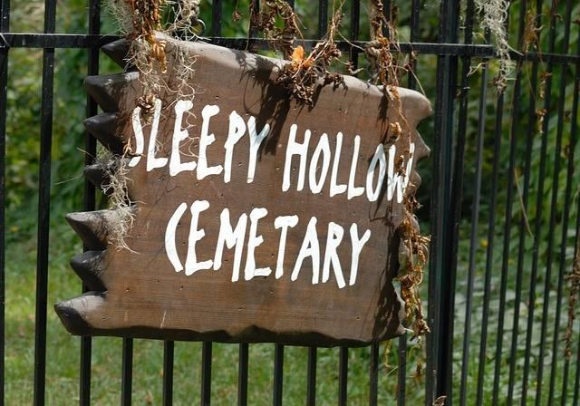 Sleepy Hollow Sign Cemetary - Free photo on Pixabay (2402)