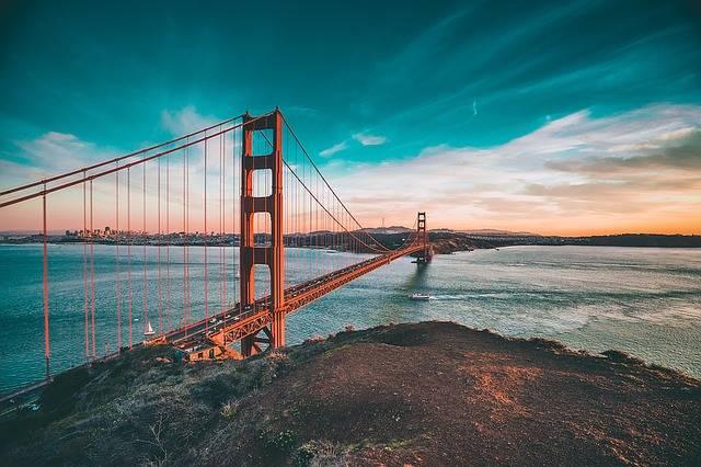 Golden Gate Bridge California - Free photo on Pixabay (2404)