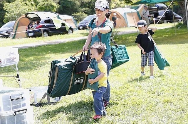 楽しく遊びながら子どもが伸びる!5つの力が身につくキャンプ活用法