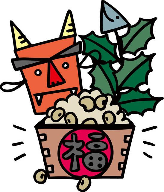 鬼は外!福は内!まいて楽しい豆まきのいろはと節分の由来とは?