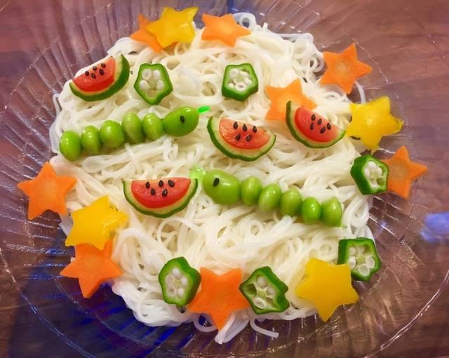 七夕のメニューといえばなに?行事食献立の参考には郷土食と給食レシピがお役立ち!
