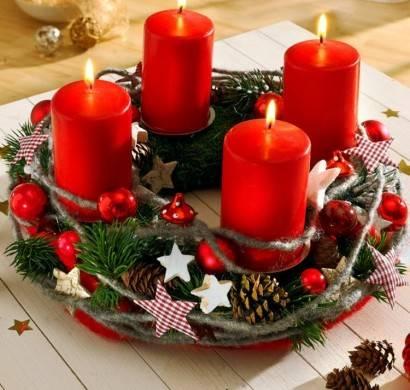 ヨーロッパでは常識?!今年のクリスマスはアドベントキャンドルを手作りしてみよう!