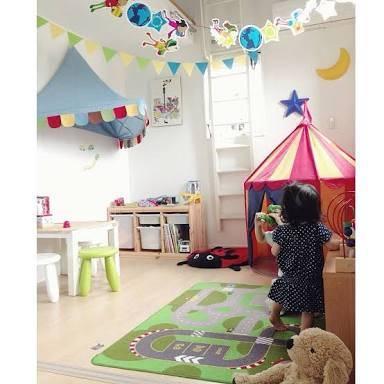 赤ちゃんのお部屋を可愛く作ろう!人気のガーランド8選&真似したくなる♡飾り方のコツとは?