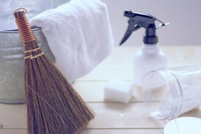 重曹なら赤ちゃんのママも簡単に安心お掃除!楽にキレイでエコな使い方レッスン3選♪