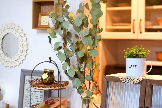 おしゃれなカフェ風インテリア実例24選♡100均雑貨や観葉植物を飾って落ち着く空間に変身!