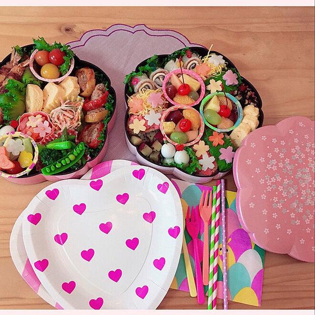 かわいいお花見弁当のアイデア実例16選!SNSに映えるアレンジメニューや小物選びを大特集!