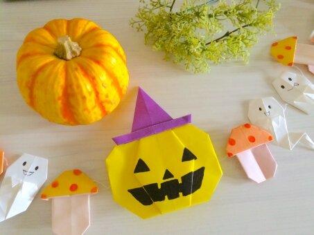 【動画付き】子どもと作れるハロウィンの折り紙10選!簡単なものから立体的なものまでご紹介!