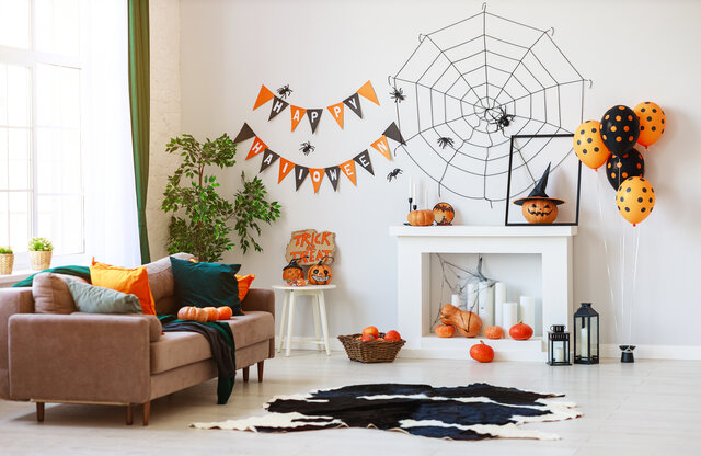 ハロウィンの飾りを親子で手作りしよう!作り方動画18選と折り紙の飾りつけ実例もご紹介!