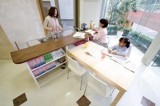 【子どもが勉強できるキッチン】|足立区の賃貸売買不動産は松井産業ブログ (415)