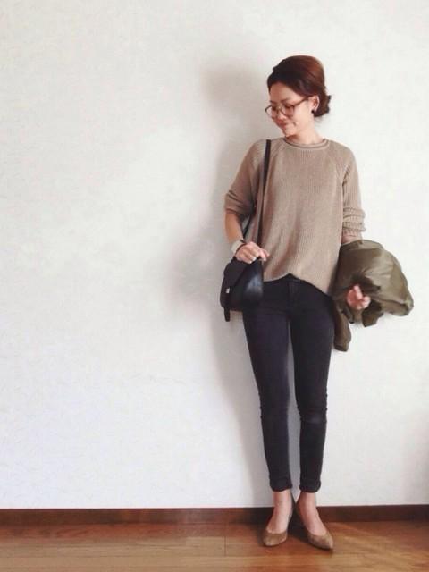 30代ママの春ファッションコーデ着こなし術 , J4U (14391)