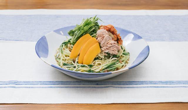 中華麺も安心して食べられて低糖質「大盛りダイエット冷やし中華」|フリー写真素材・無料ダウンロード-ぱくたそ (24073)