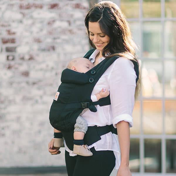 エルゴ ベビー アダプト Ergobaby adapt ブラック【ベビーウエストベルト付新仕様】アダプトは新生児から付属品なしで成長に合わせて使える小柄なママにもおすすめなエルゴベビー 最新 抱っこ紐 adapt(アダプト)! (27237)