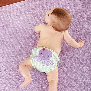 """Beach Bums"" Set of 3 Bloomers (0-6 Months and 6-12 Months) by timelesstreasure 