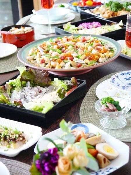 Favorite Recipes-ひなまつりパーティー☆『うちのちらし寿司(ばらちらし)』『苺のレアチーズケーキ』他 (29494)