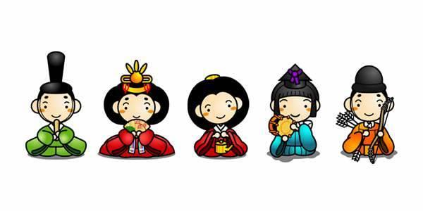 無料イラスト素材:ひな祭りのかわいい画像まとめ(お雛様・お内裏様) (30567)