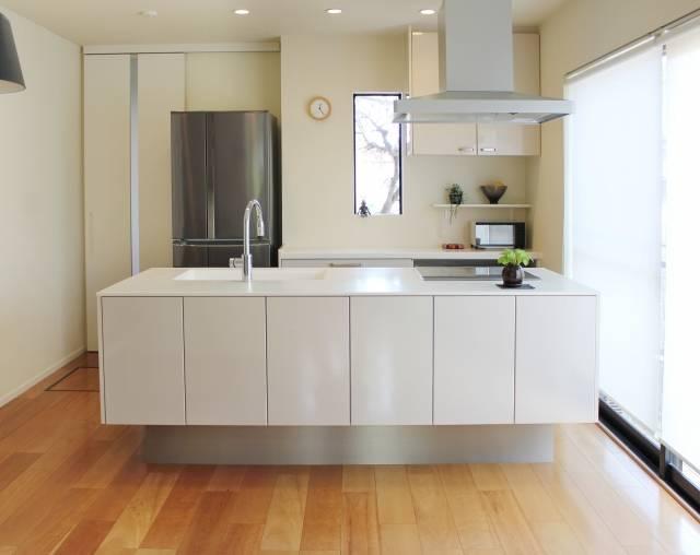白いキッチン|写真素材なら「写真AC」無料(フリー)ダウンロードOK (42153)