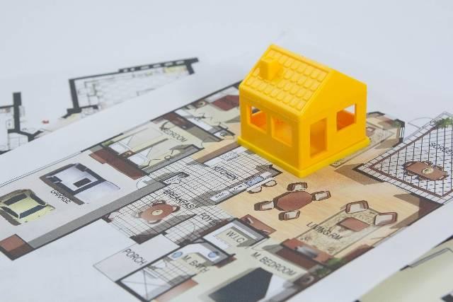 家の模型影63|写真素材なら「写真AC」無料(フリー)ダウンロードOK (42460)