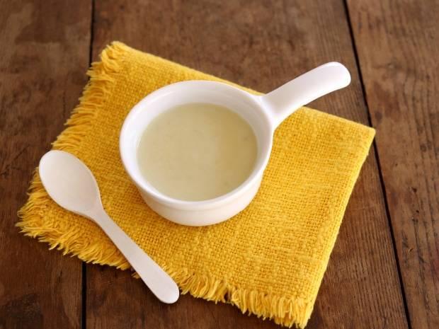 さつまいものミルクピュレ<5ヵ月~6ヵ月の離乳食レシピ>| 食べる| 離乳食レシピ|ほほえみクラブ 育児応援サイト (42830)